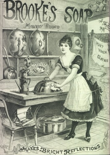 Brookes Soap Advertisement 1890